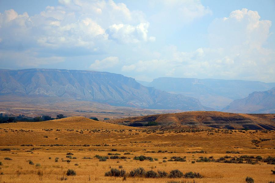 Big Horn Photograph - The View From Red Gulch by Darla Wells