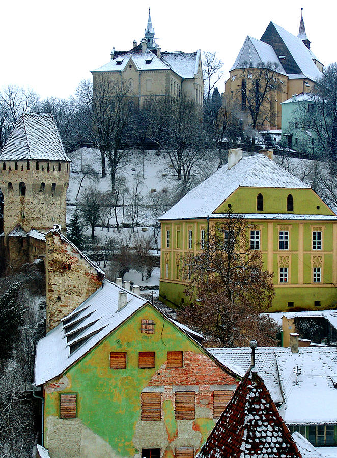 Sighisoara Photograph - The View From The Clocktower by Todd Fox