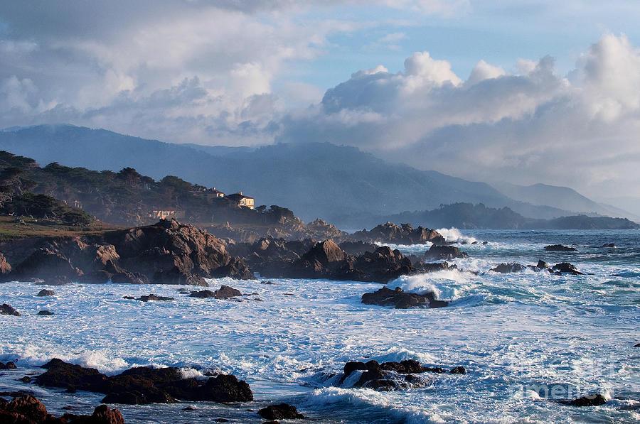 Pebble Beach Photograph - The View by Paul Goodman