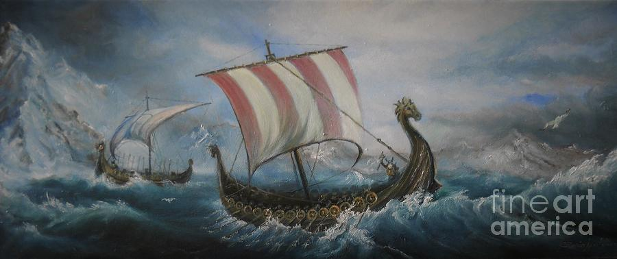 The Vikings by Sorin Apostolescu