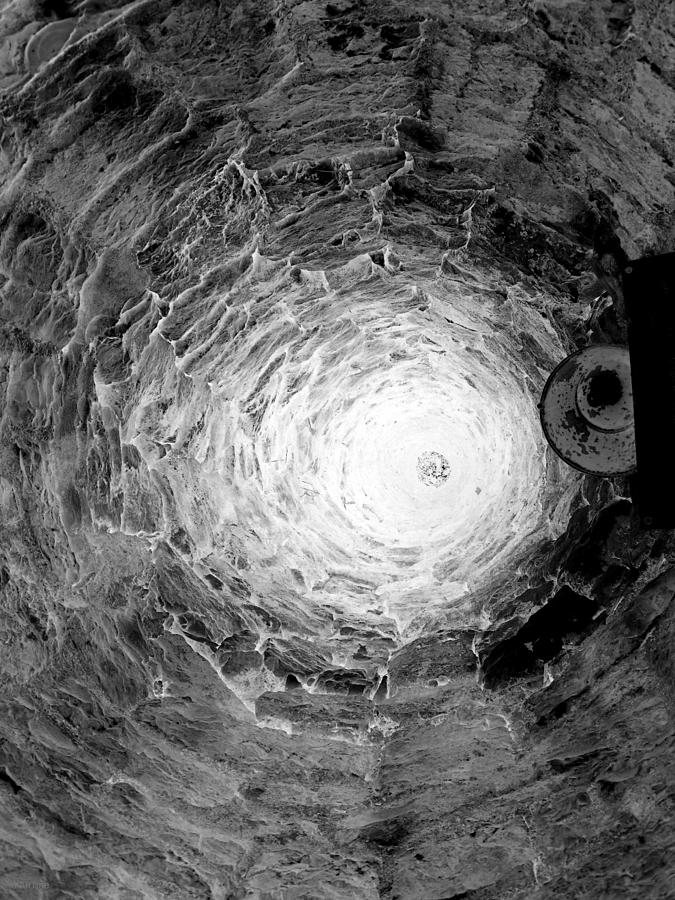 The Village Well Monochrome Photograph
