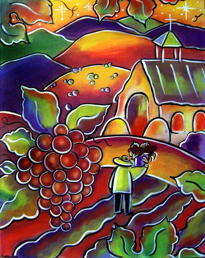 The Vineyard by Jan Oliver-Schultz