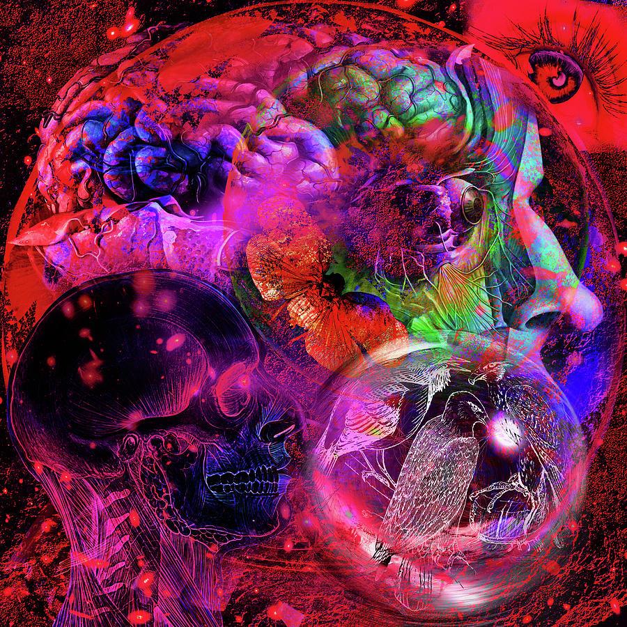 The Violent Mind Digital Art
