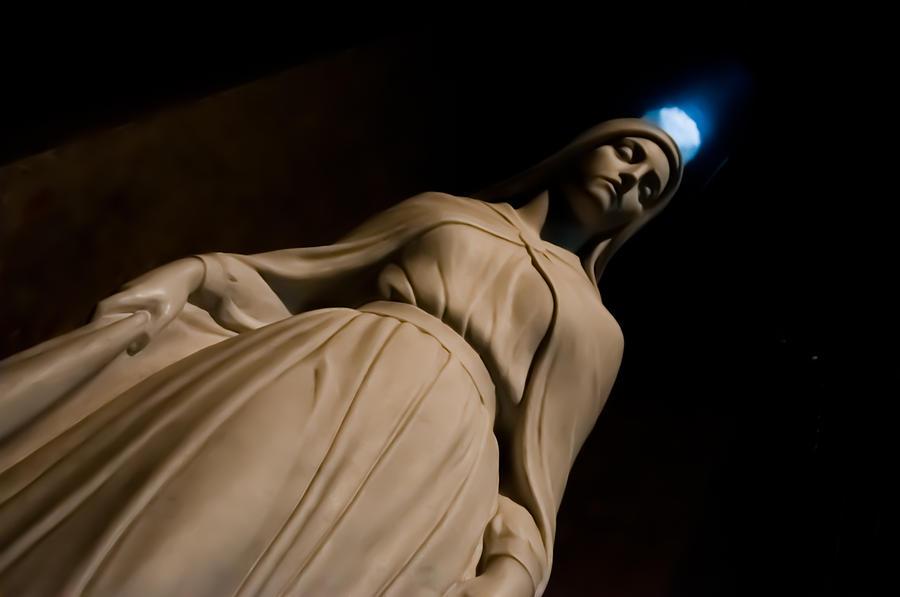 Virgin Mary Photograph - The Virgin Mary by Joe Houghton