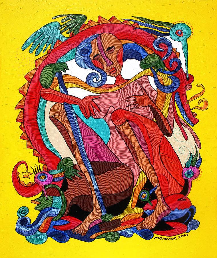 Virgo Painting - The Virgin by Monnar Baldemor