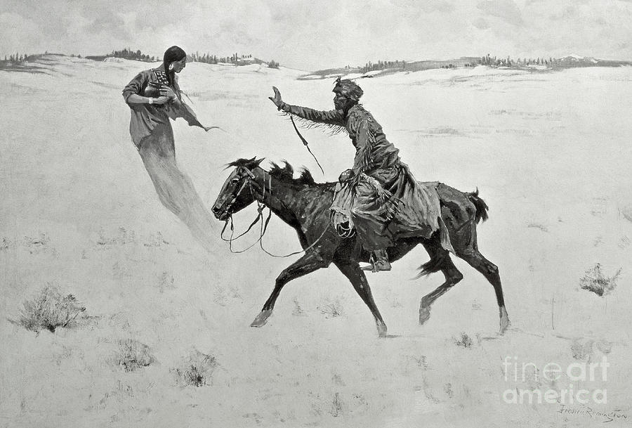 The Vision Painting By Frederic Remington