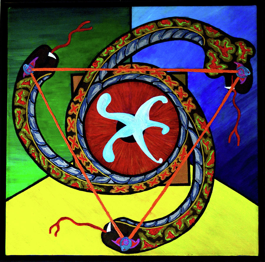 The Vitruvian Serpent by Rufus J Jhonson