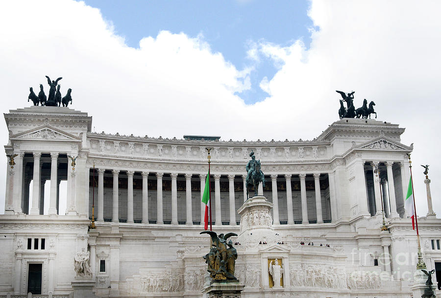 The Vittoriano is a Symbol of a United Italy by Brenda Kean
