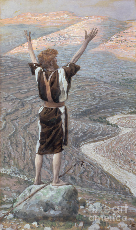 The Painting - The Voice In The Desert by Tissot