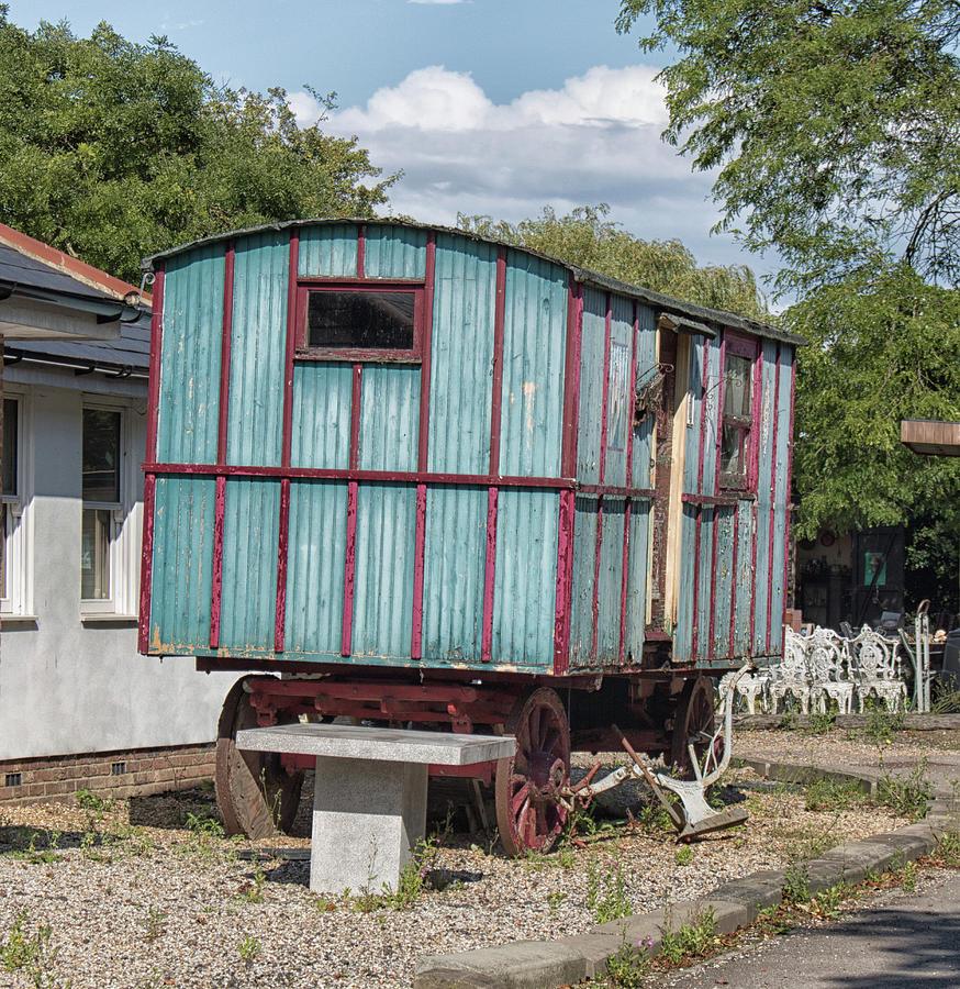 Caravan Photograph - The Wagon by Martin Newman