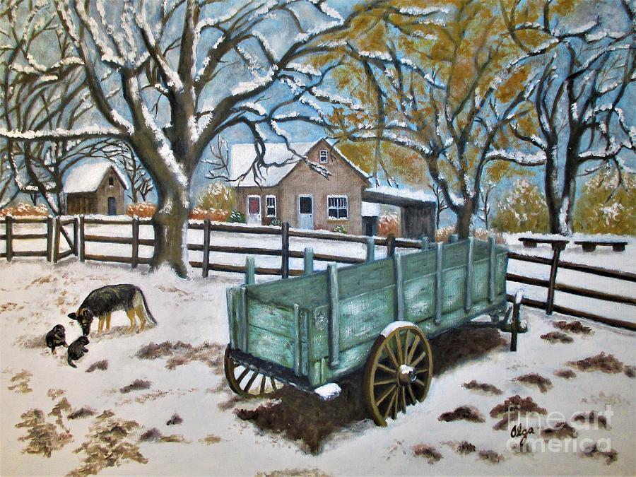 The Wagon by Olga Silverman