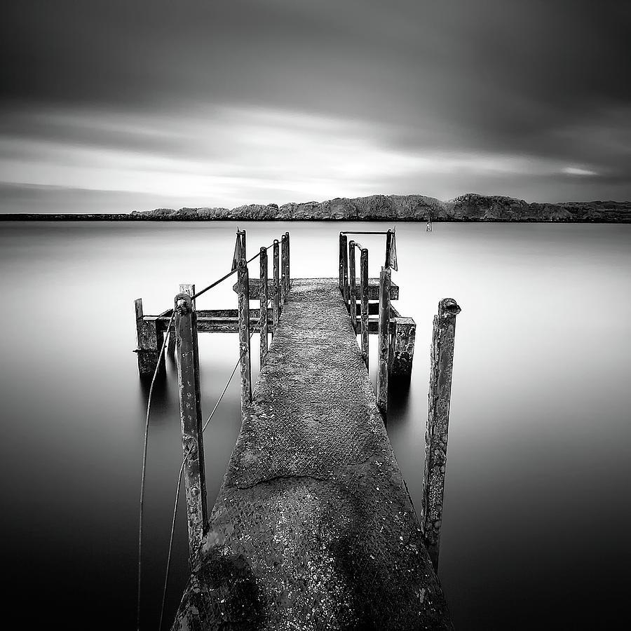 B&w Photograph - The Wait II by Pawel Klarecki