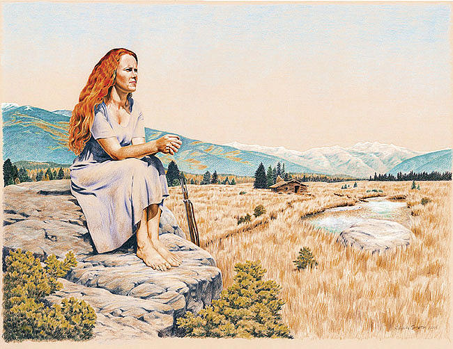 Nature Painting - The Waiting by Greg Smith