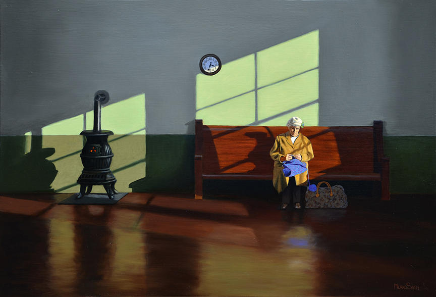 The Waiting Room by Murad Sayen