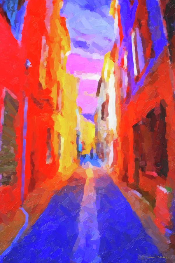 Abstract Digital Art - The Walkabouts - Twilight In Francethe Walkabouts - Twilight In France by Serge Averbukh