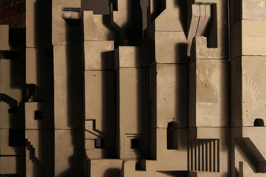 Architecture Photograph - The Wall 3 by David Umemoto