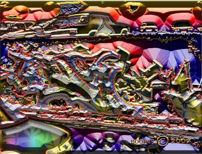 Jazz Digital Art - The Wall Of Alto Clef by Booker Williams
