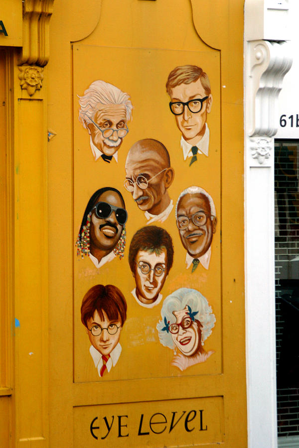 London Photograph - The Wall Of Fame by Jez C Self