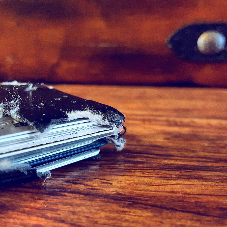 Wallet Photograph - The Wallet II by Daniel Donche