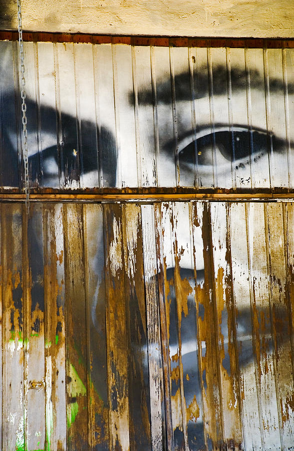 Escondido  Photograph - The Walls Have Eyes by Skip Hunt