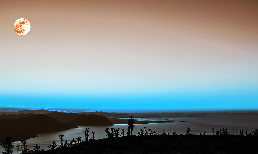 Nature Painting - The Wandering Youth 3 by Celestial Images