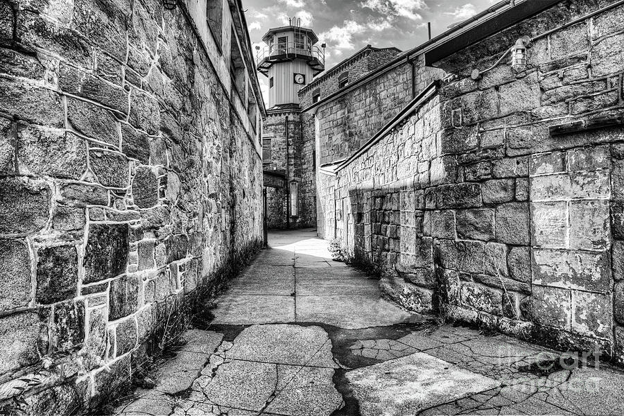 The Watch Tower Eastern State Penitentiary by Anthony Sacco