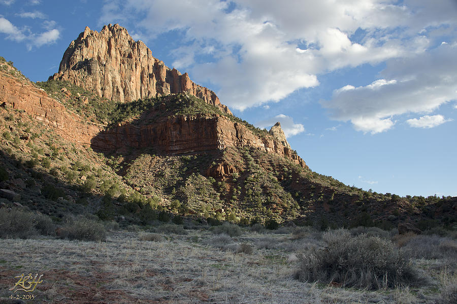 Watchman Photograph - The Watchman by Kenneth Hadlock