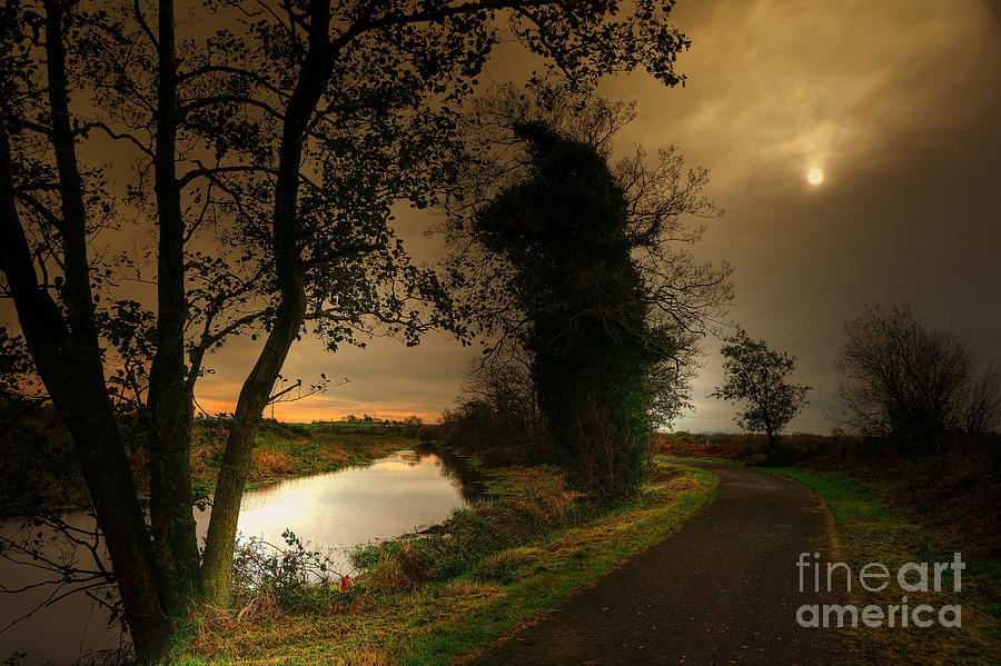 The Ulster Way Pictures Photograph - The Water Trail by Kim Shatwell-Irishphotographer