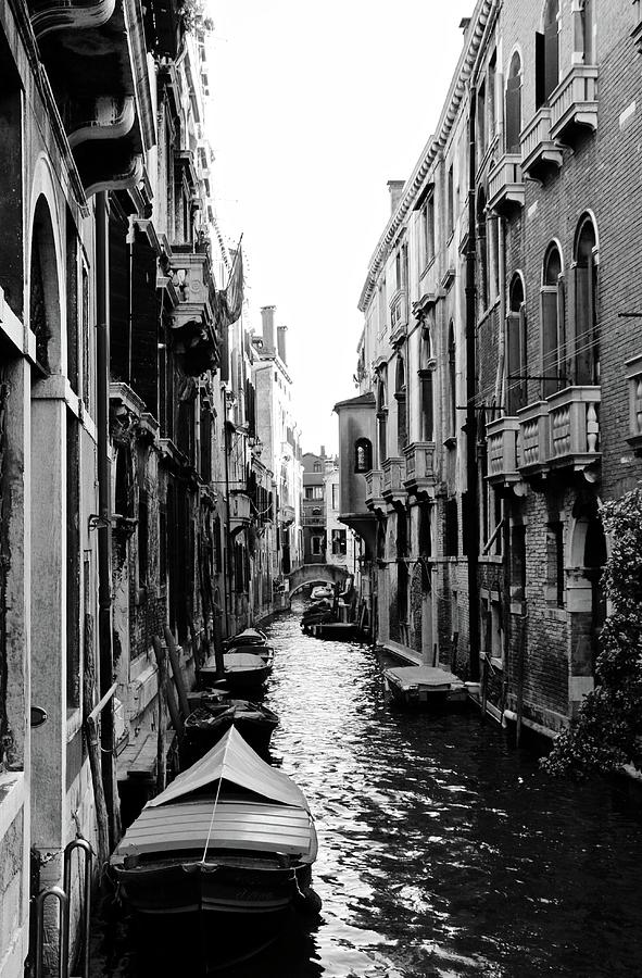 Venice Streets Photograph - The Waterways Of Venice by Shelly John