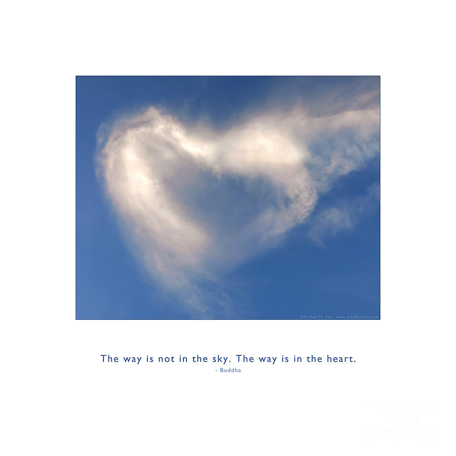 The Way Is In The Heart by Kristen Fox