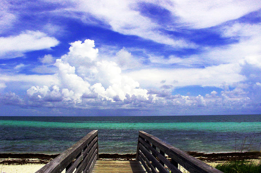 Beach Scenes Photograph - The Way To The Beach 2 by Susanne Van Hulst