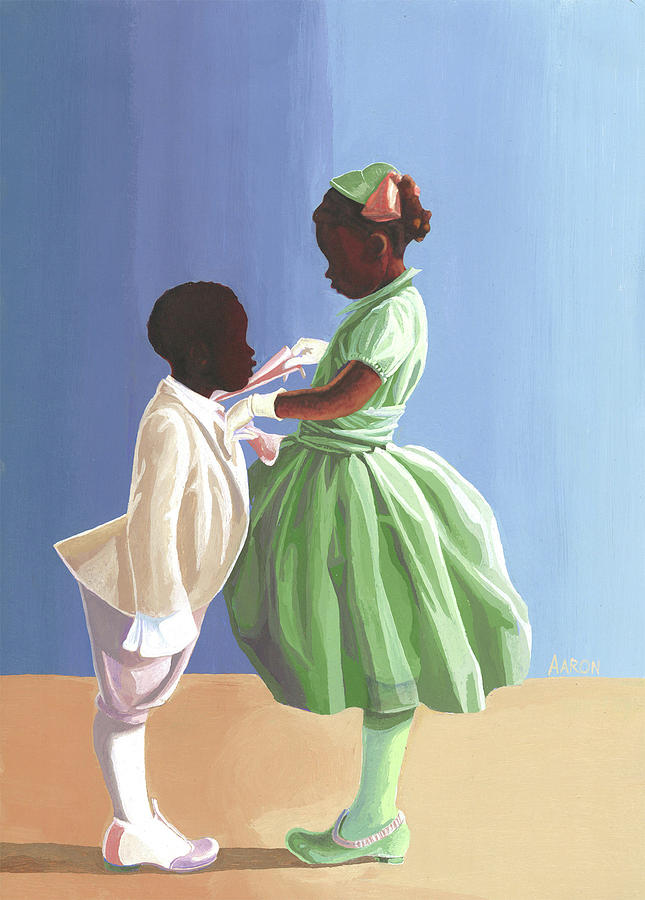 Aaron Painting - The Wedding by Aaron Clark