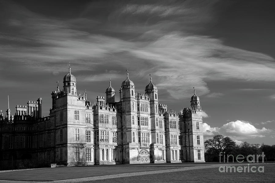 The West Golden Gate Elevation Of Burghley House Stately Photograph