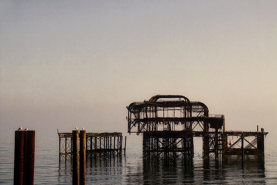 The West Pier, Brighton by Gavin Bates