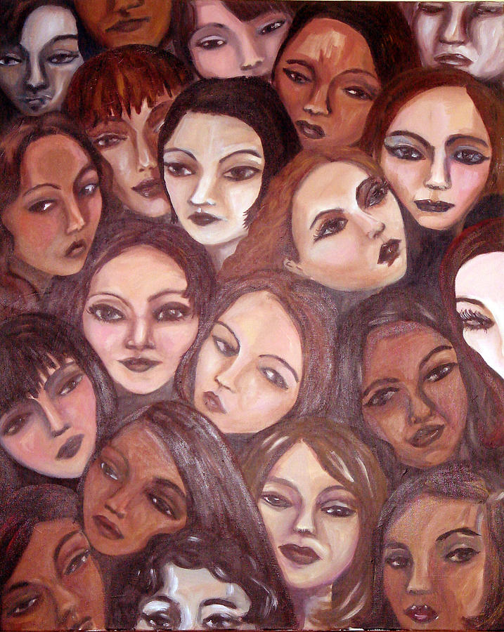 Portrait Painting - The Whispering Gate by Jenni Walford