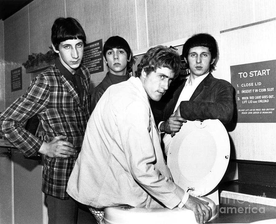 The Who Photograph - The Who 1966 by Chris Walter