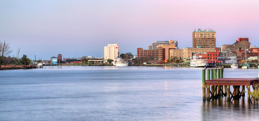 Wilmington Nc Photograph - The Wilmington Skyline by JC Findley