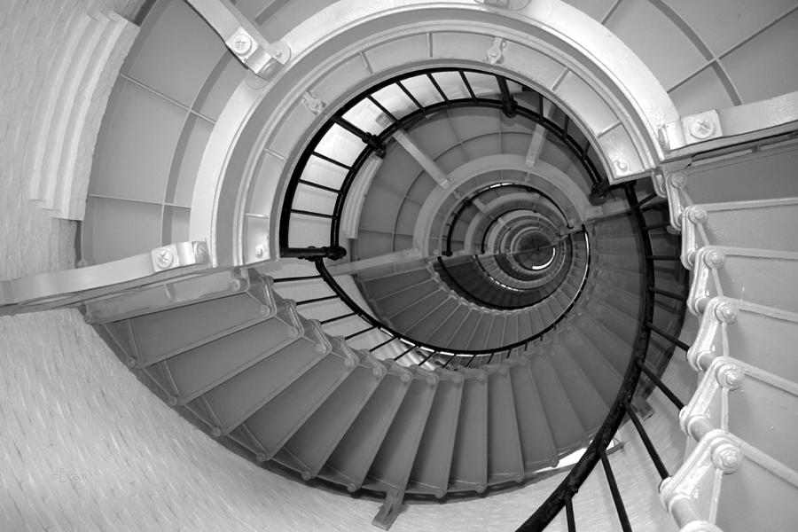 Ordinaire The Winding Stairs Of A Lighthouse
