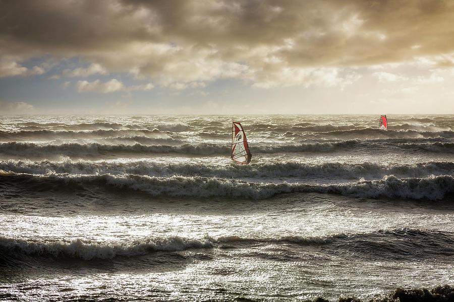 The Windsurfer by Len Brook