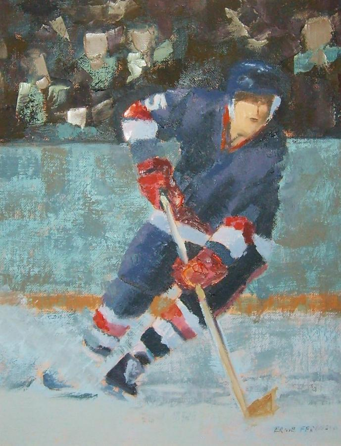 The Winger Painting by Ernie Ferguson