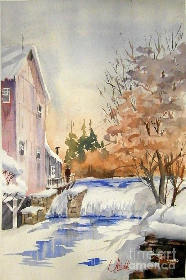 The Winter Mill by Gerald Miraldi