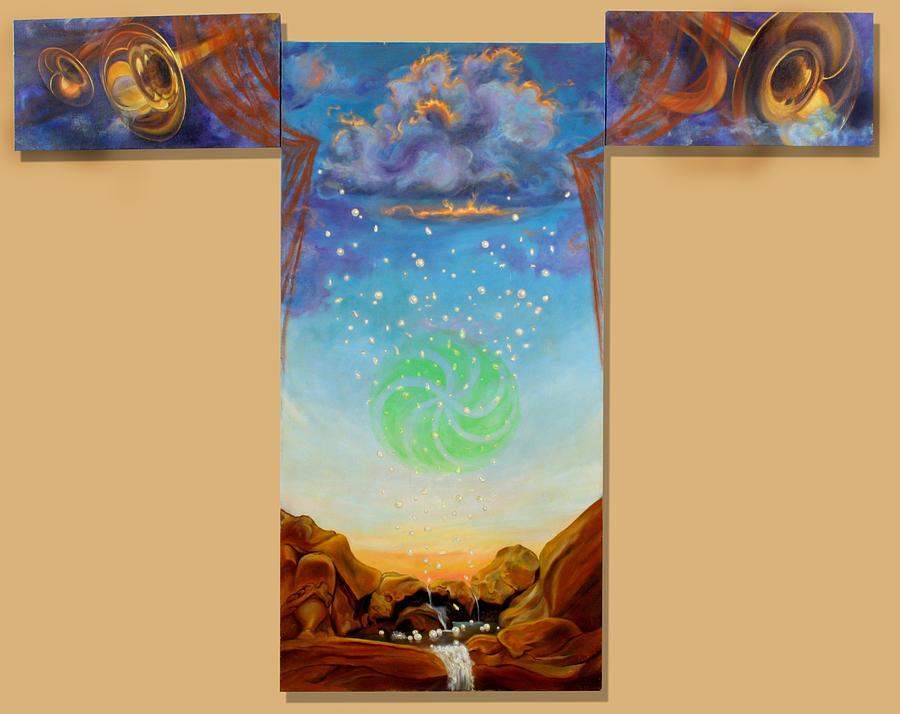 Joy Painting - The Wisdom Of Joy by Anne Cameron Cutri