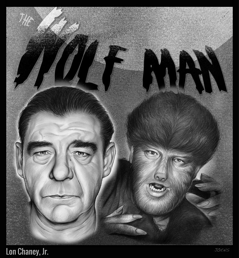 The Wolf Man Drawing