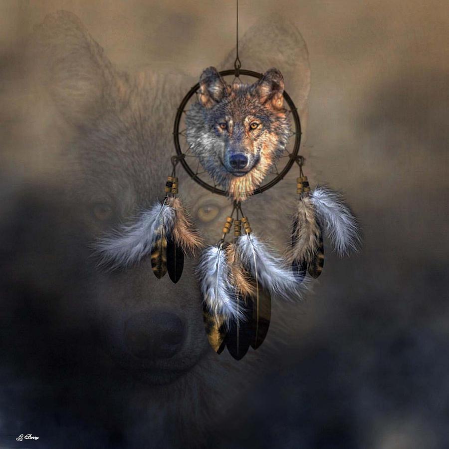 Wolf Spirit Dream Catcher