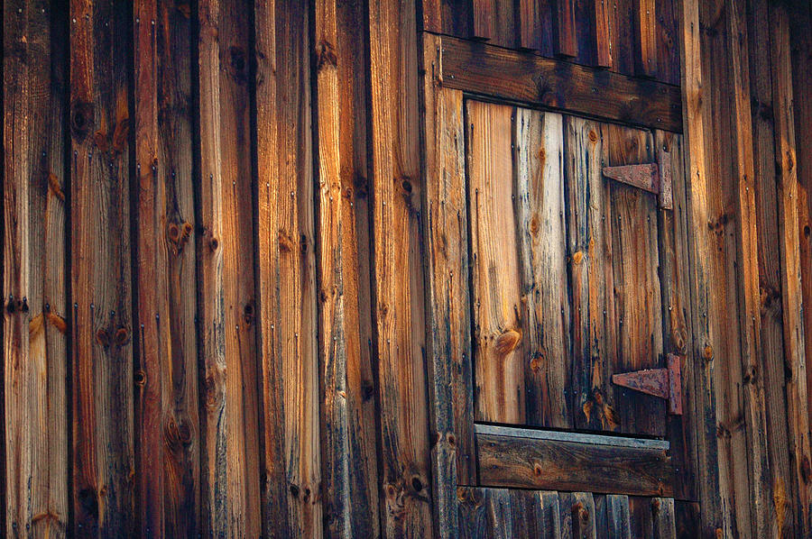 Barn Photograph - The Wonders Of Wood by Ross Powell