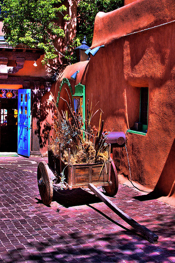 The Wooden Cart Photograph