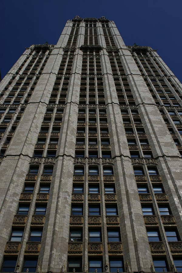 New York City Photograph - The Woolworth Building by Christopher Kirby