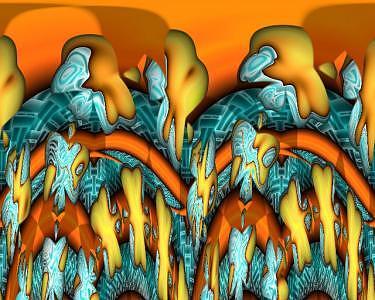 Digital Digital Art - The World Of Fantasy And Disaster by Hendrik Arie Baartman