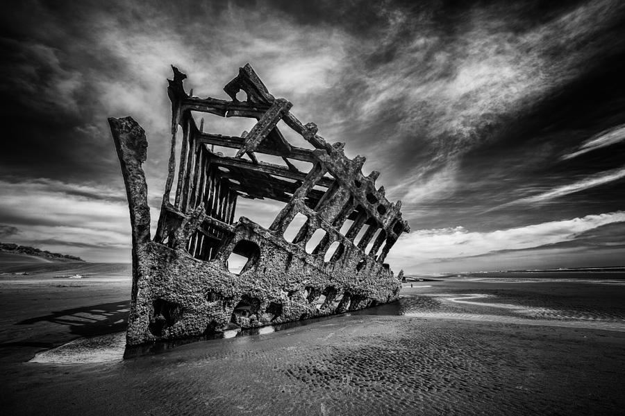 Shipwreck Photograph - The Wreck Of The Peter Iredale by Rick Berk