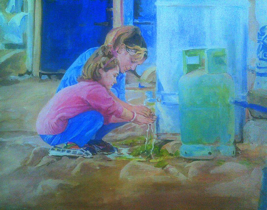 The Yazidi Girls by Rosanne Gartner